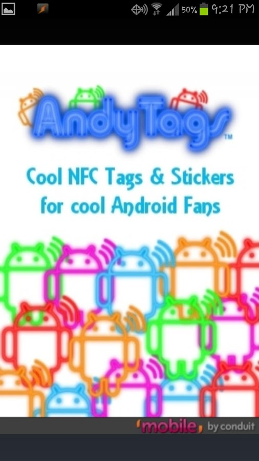 AndyTags NFC Tags - screenshot