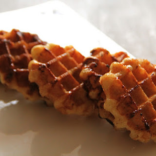 Express Sugar/cinnamon Waffle (with Pizza Dough)