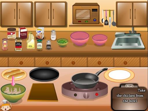 Игра Chicken Wings Cooking для планшетов на Android