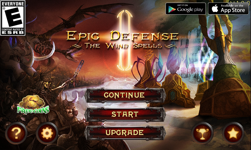 Epic Defense 2 - Wind Spells- screenshot