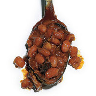 Baked Beans with Burnt Ends.