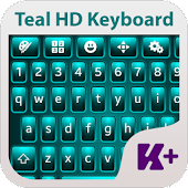 Teal HD Keyboard Theme