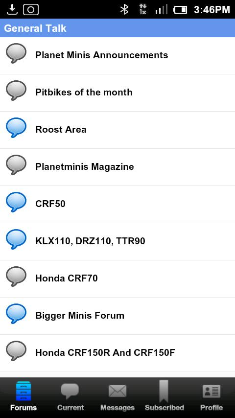 PlanetMinis Forum - screenshot