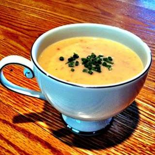 Cream of Green Garlic Potato Soup