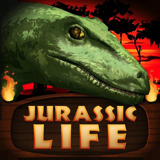 Jurassic Life: Velociraptor LOGO-APP點子