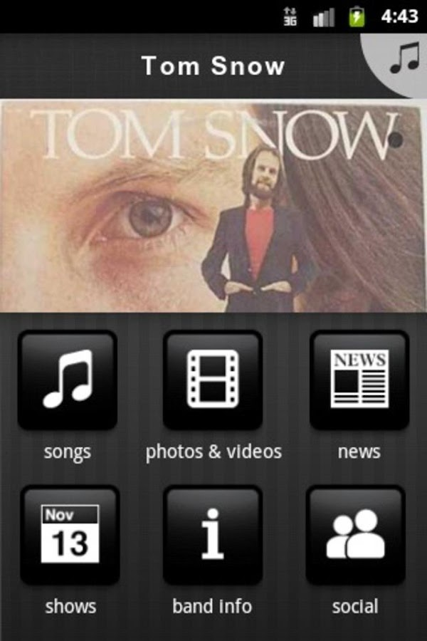 Tom Snow - screenshot