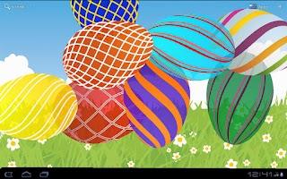 Screenshot of Easter Eggs Live Wallpaper PRO