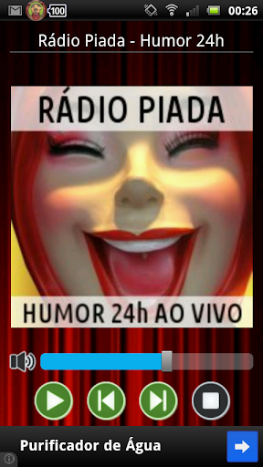 Rádio Piadas 24hs Humor Música