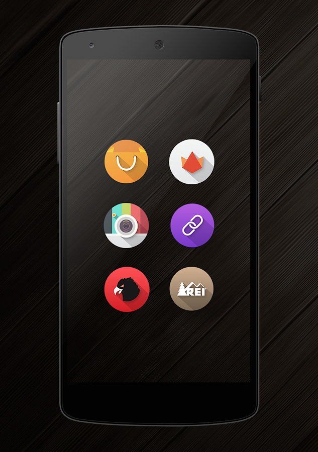 Flat-O Icon Pack- screenshot