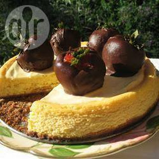 Cheesecake Met Witte Chocolade En Passievrucht