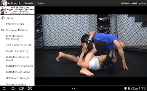 BigStrong 13, Guard Sweeps - screenshot thumbnail