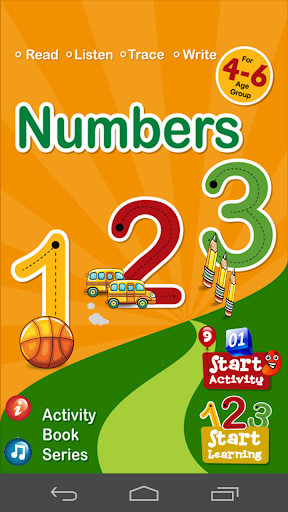 Numbers 123 Activity Book Pro