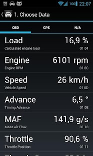 OBD Dashboard (Free)- screenshot thumbnail