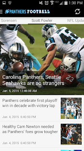 Carolina Panthers News - screenshot thumbnail