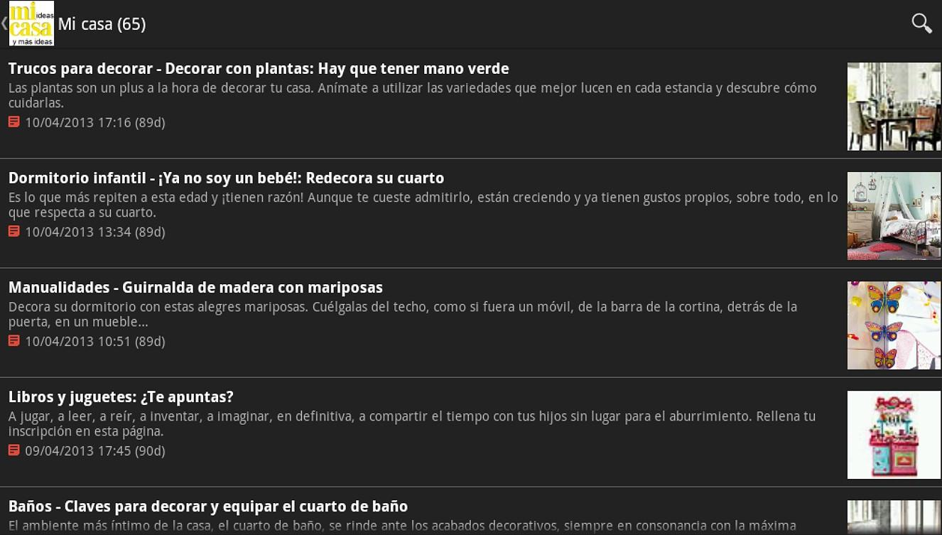 Revistas para Ellas - screenshot