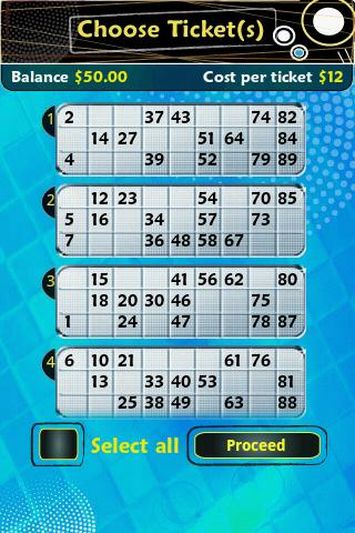 Pocket Bingo Free - screenshot
