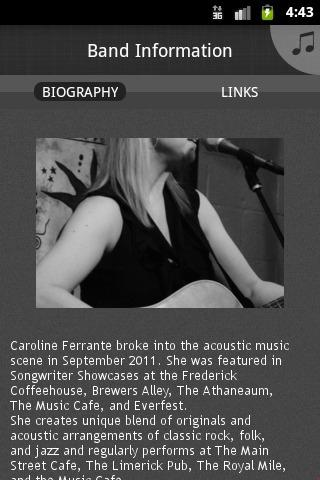 Caroline Ferrante - screenshot