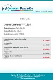 Mi Conexión Bancaribe- screenshot thumbnail