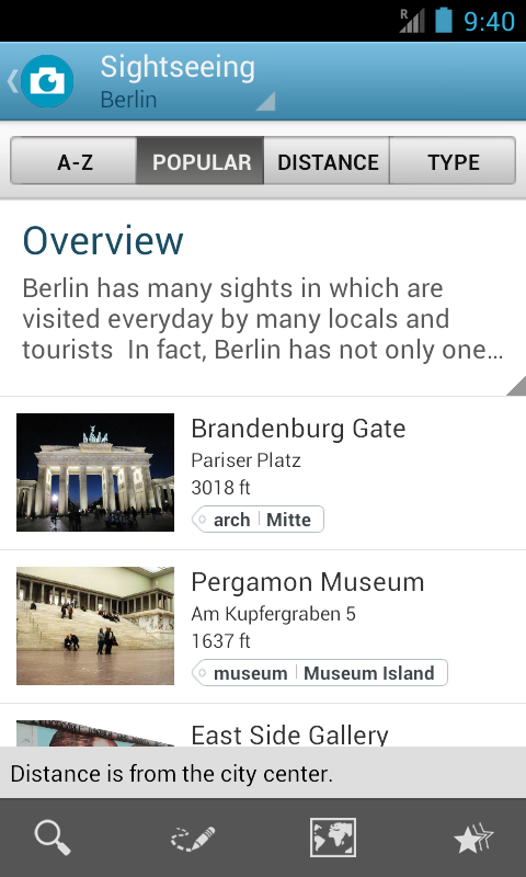 World Travel Guide by Triposo - screenshot