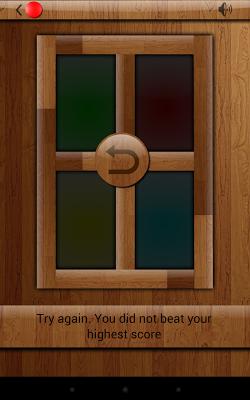 Simon Says Memory Game - screenshot