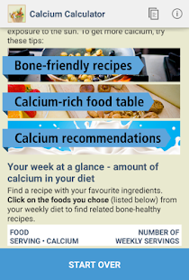 IOF Calcium Calculator- screenshot thumbnail