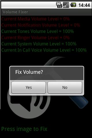 Volume Fixer - screenshot