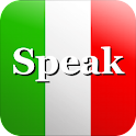 Speak Italian Free logo