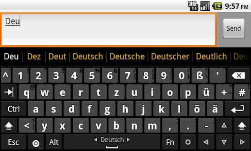 German dictionary (Deutsch)- screenshot thumbnail