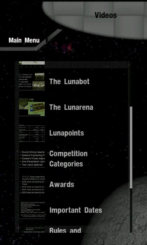Lunabotics Mining Competition- screenshot