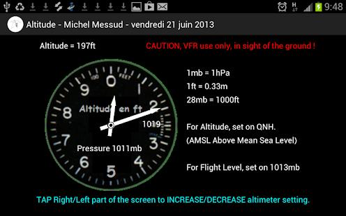 Aviation Altimeter