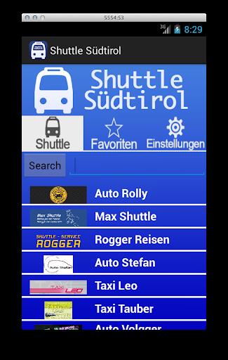 Shuttle Südtirol