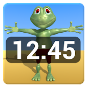 Tim Tom Tia Time clock widget