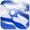 3D Israel Flag icon