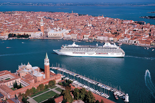 Crystal-Serenity-Venice-Italy - Visit historic, breathtaking Venice while sailing to Italy aboard Crystal Serenity.