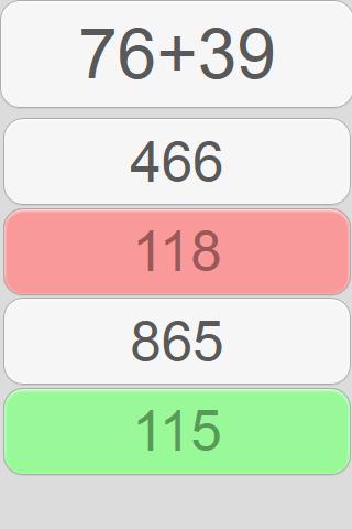 【免費教育App】Minute Math: Addition-APP點子