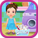 Home Laundry Girls Games icon
