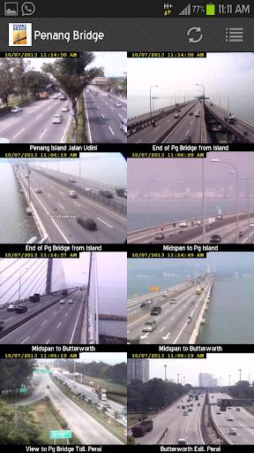 Penang Bridge Traffic Cam