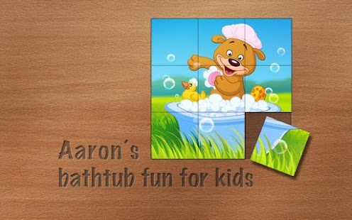 Aaron's kids bathing pet games- screenshot thumbnail