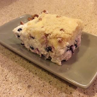 No Bake Lemon Blueberry Bars