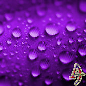 Theme Xperien Dew Drops Purple