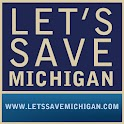 Let's Save Michigan logo