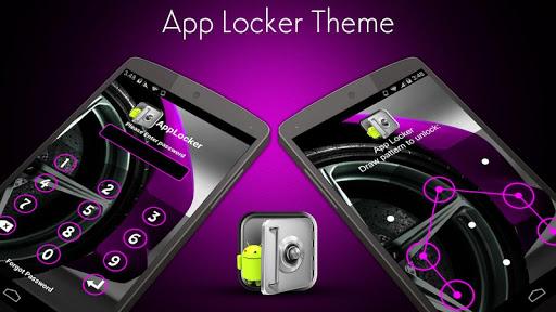 AppLocker Theme Car