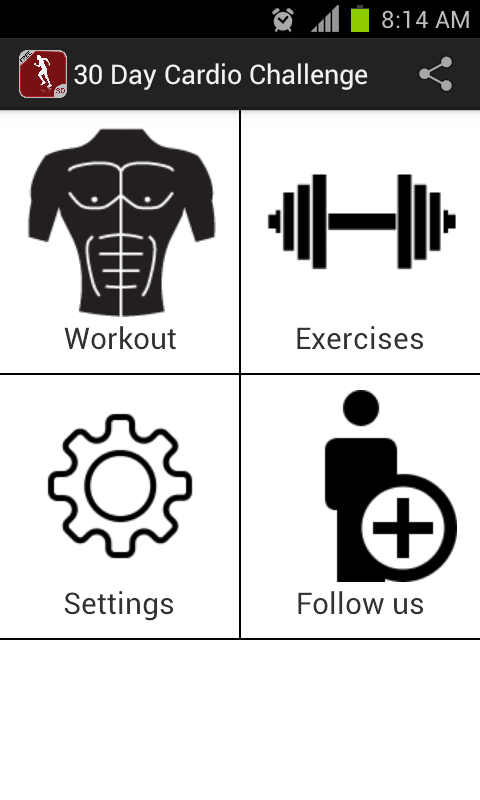 Screenshots of 30 Day Cardio Challenge FREE for iPhone
