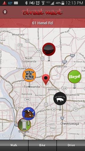 StreetMeat Food Truck Finder