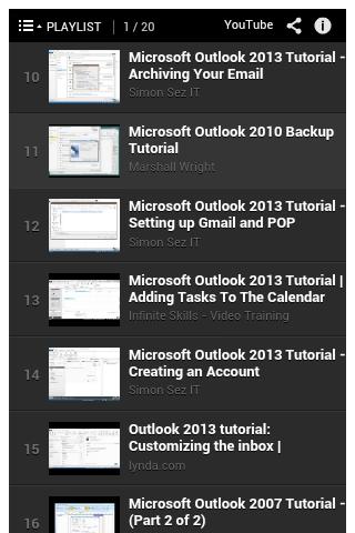 【免費書籍App】Ms Outlook Tutorial-APP點子