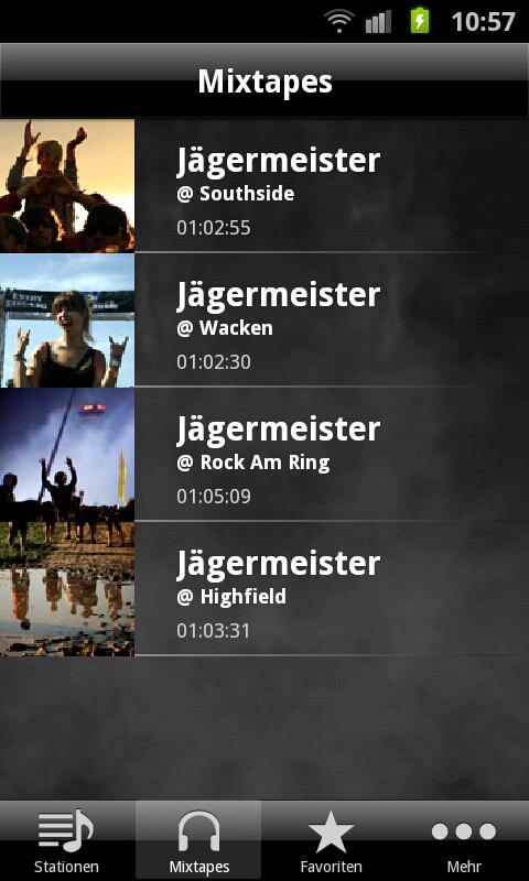 Jägermeister Radio - screenshot