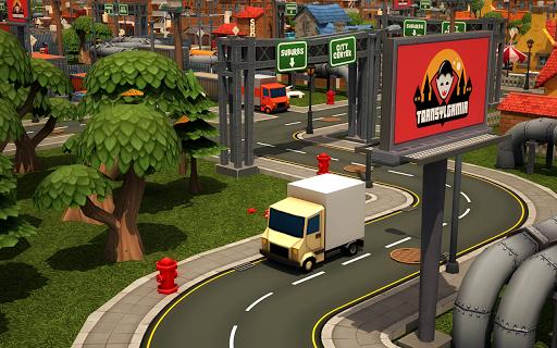 玩免費街機APP|下載漫画の車の3D駐車場 app不用錢|硬是要APP