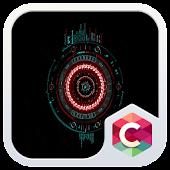 Futuristic C Launcher Theme