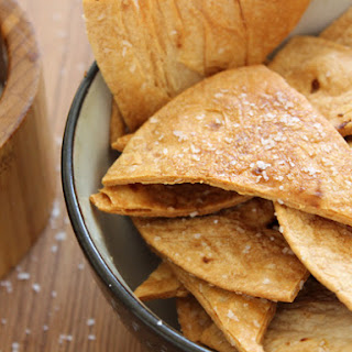 Baked Flour Tortilla Chips, Crisp and Flaky Recipe