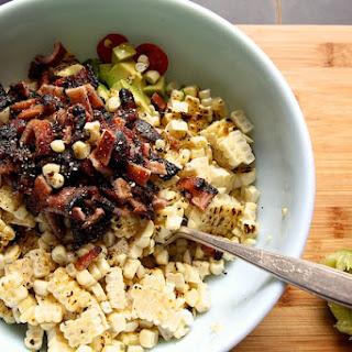 BLT Corn Salad Wraps.